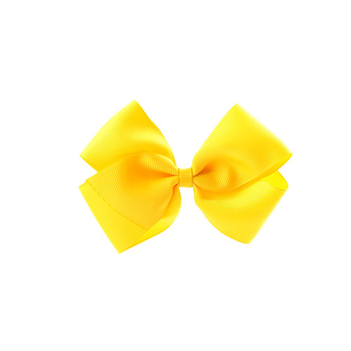 Medium London Bow Hair Tie - Daffodil