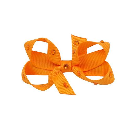 Small Bow - Tangerine