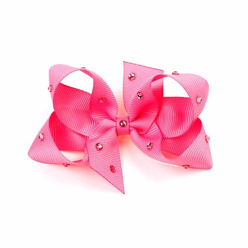 Medium Bow - Hot Pink