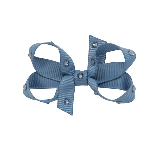 Small Bow - Antique Blue