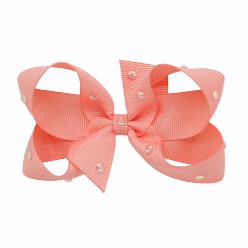 Medium Bow - Light Coral