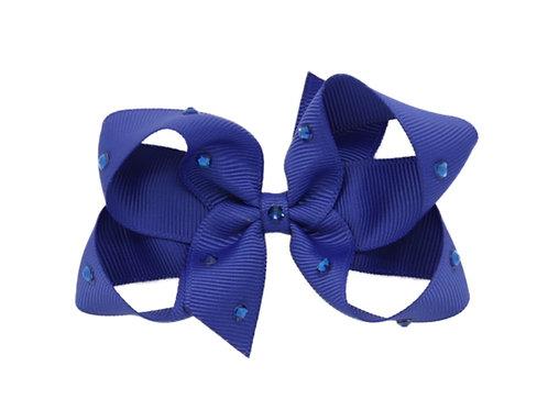 Medium Bow - Cobalt
