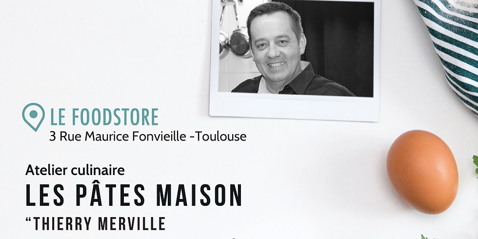 """Les Pâtes maison - Thierry Merville """"1 étoile michelin"""""""