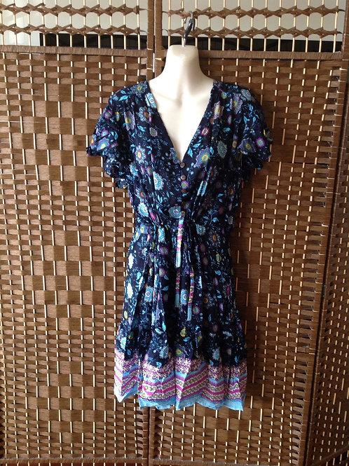 Babydoll button dress