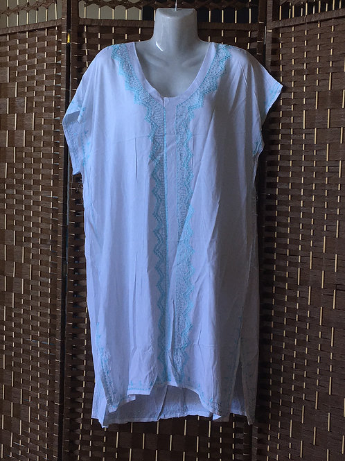 White kaftan/top