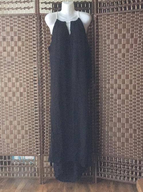 Extra large black dress