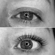 Before and After Lash Lift by AnneMarie Lorenzini