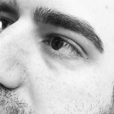 Man Eyebrows by AnneMarie Lorenzini