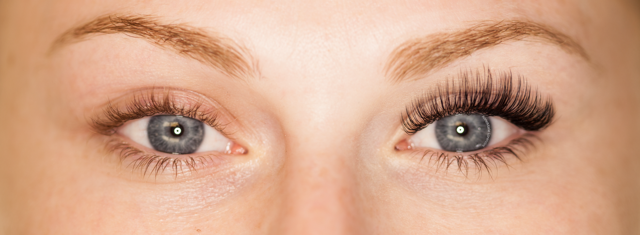 Before and After Lashes by AnneMarie Lorenzini