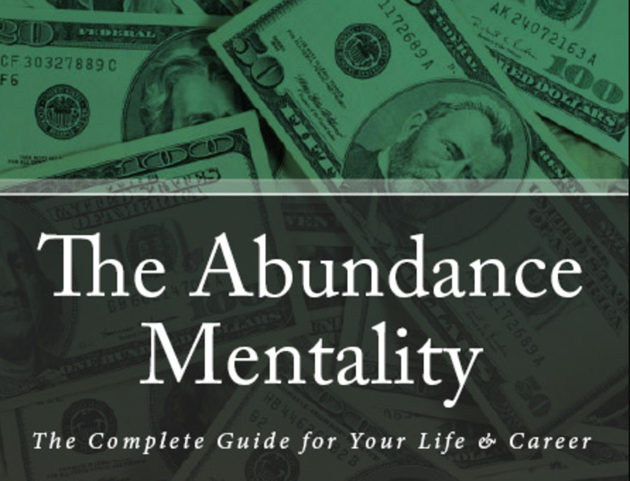 The Abundance Mentality Book