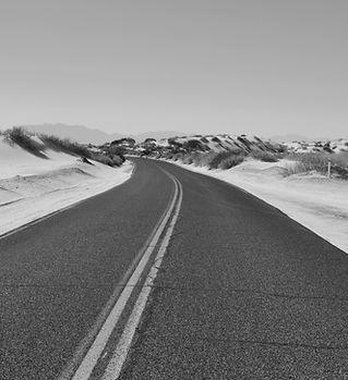 Verlassene Straße