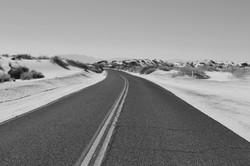 Estrada abandonada