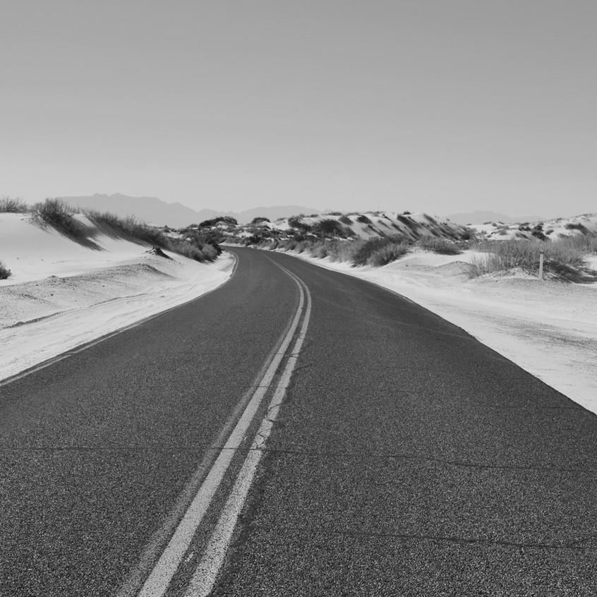 déserte route