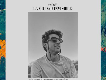 #LaCiudadInvisible con CALIGRAMA (entrevista)