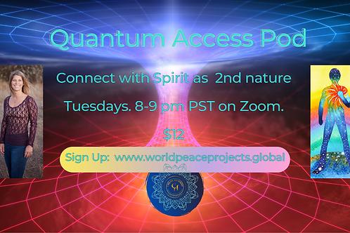 Live Quantum Access Pod