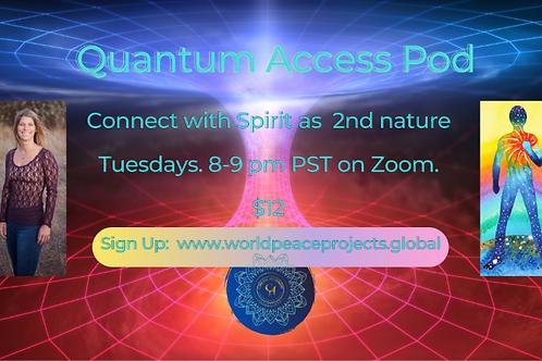 Upcoming Live Quantum Access Pod
