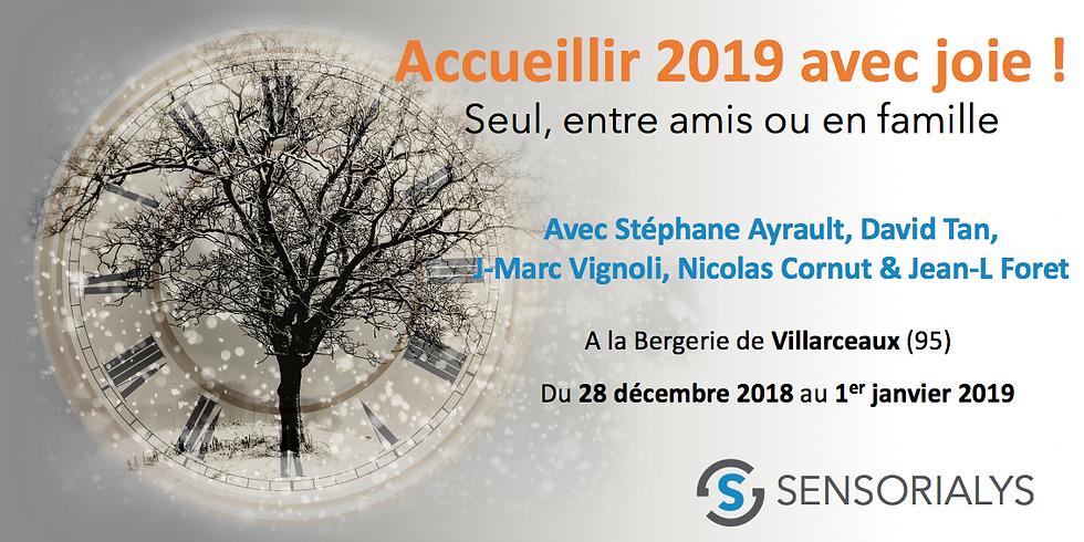 ACCUEILLIR 2019 AVEC JOIE