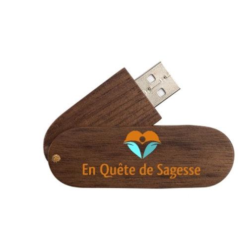 """Clé USB """"En Quête de Sagesse"""""""