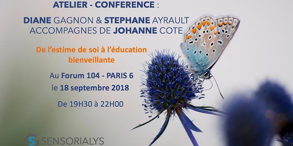 Conférence : De l'estime de soi à l'éducation bienveillante