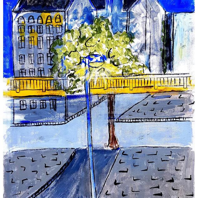View from Berlin window