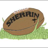 sherrin footy