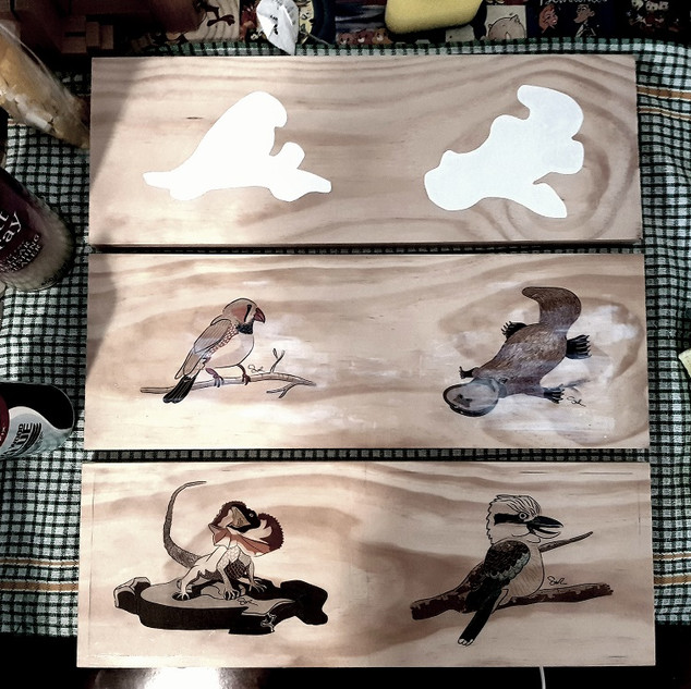 Wooden images