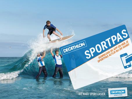 Vergeet je Decathlonkaart niet te linken aan onze club! Delen mag ;-)