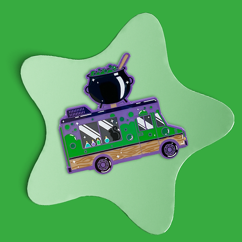 Potions Truck Enamel Pin