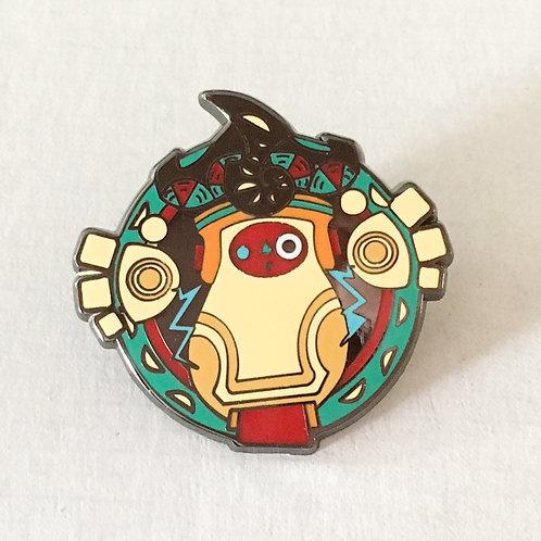 Ancient Robot Enamel Pin
