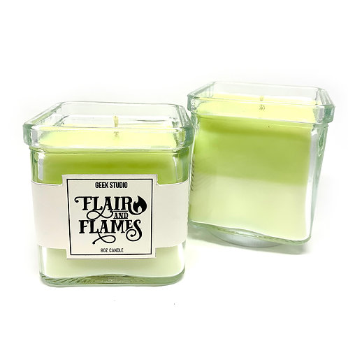 Clover Blossom Pin Candle - Floral, Coconut, Musk