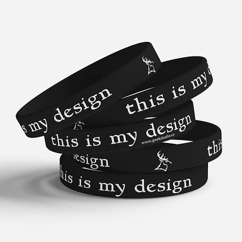 My Design Silicone Bracelet