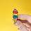 Thumbnail: Pansexual Cone Enamel Pin
