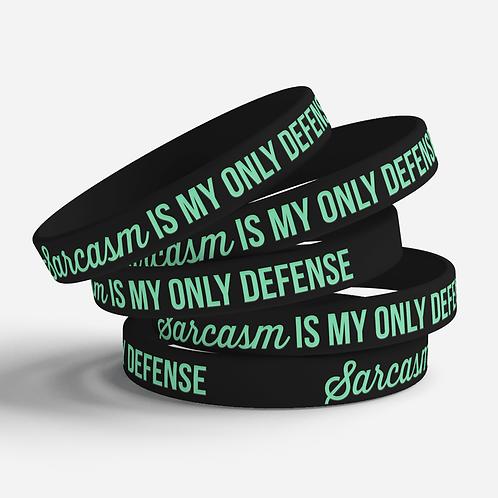 Sarcasm Silicone Bracelet