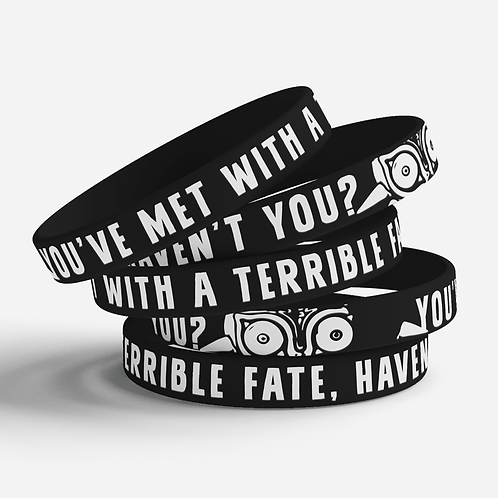 Terrible Fate Silicone Bracelet