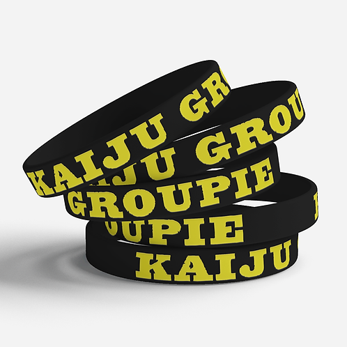 Kaiju Groupie Silicone Bracelet