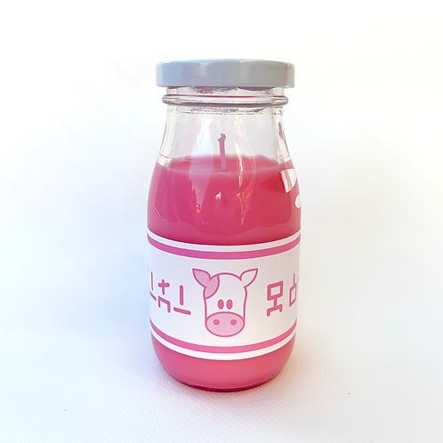 Lon Lon Milk Candle - Strawberry