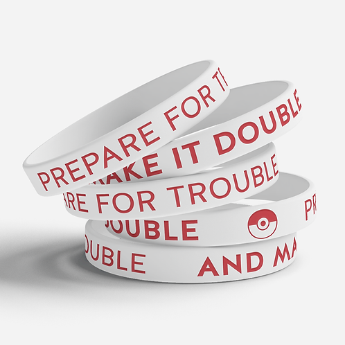 Team Rocket Silicone Bracelet