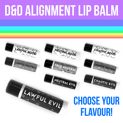 Alignment Lip Balm - Choose Your Flavour