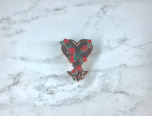 Garden of Heartless v2 Enamel Pin