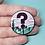 Thumbnail: Weird Weather v2 Enamel Pin
