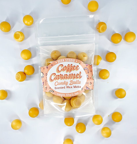Coffee Caramel Scented Wax Melts