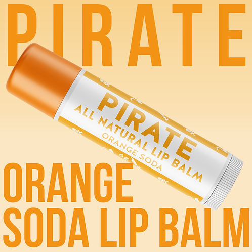 Pirate Lip Balm - Orange Soda