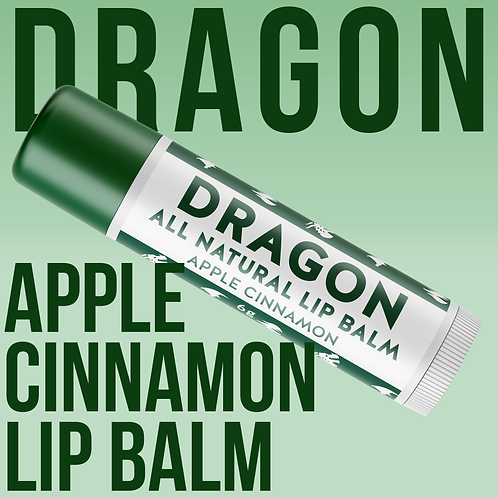 Dragon Vegan Lip Balm - Apple Cinnamon