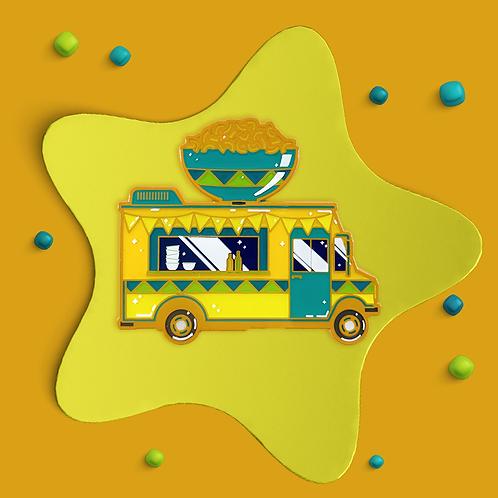 Mac & Cheese Truck Enamel Pin