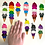 Thumbnail: Large Pride Cone Sticker