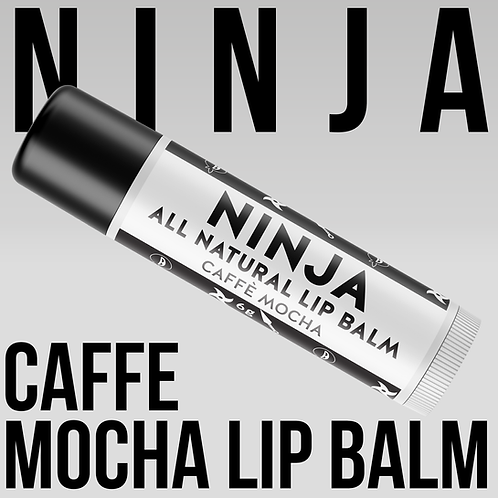 Ninja Lip Balm - Cafe Mocha