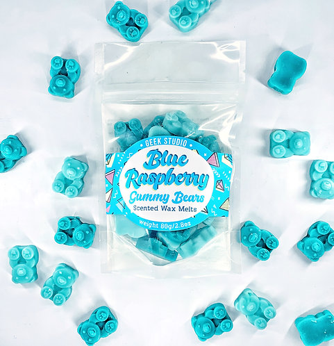 Blue Raspberry Gummy Bears Scented Wax Melts