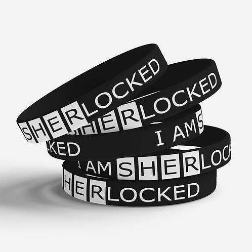 Sherlocked Silicone Bracelet