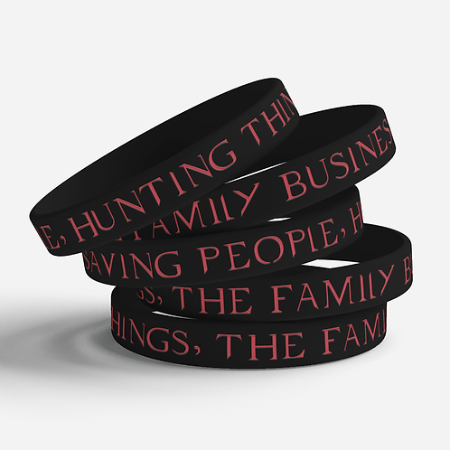 Family Business Silicone Bracelet
