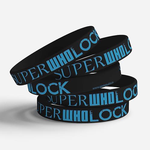 SuperWhoLock Silicone Bracelet